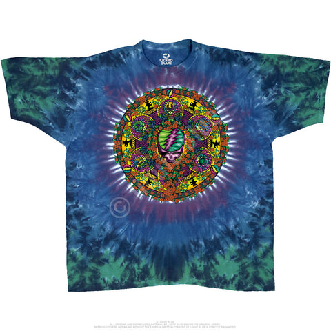 Grateful Dead - Celtic Mandala Tie Dye T Shirt