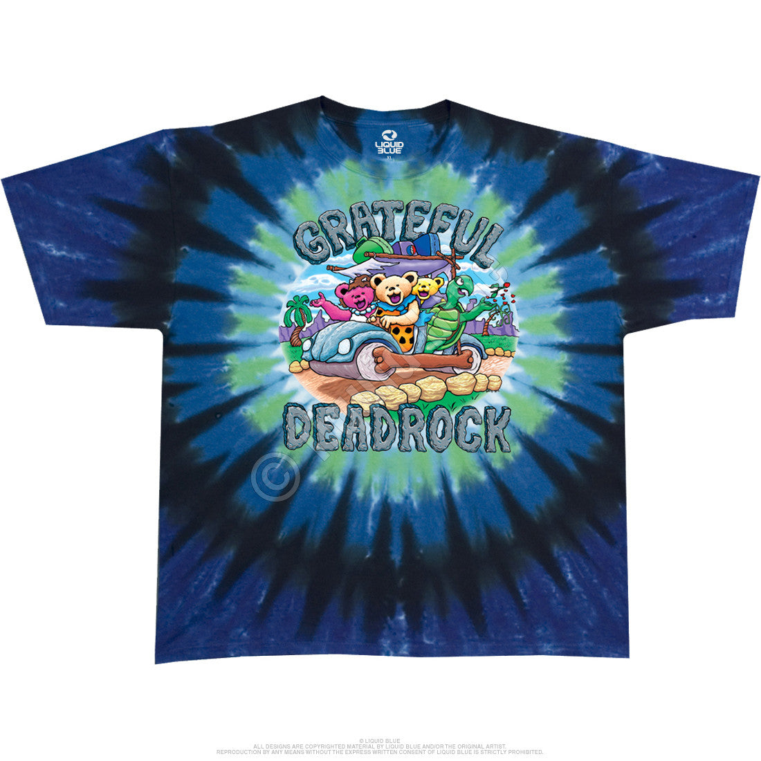 Grateful Dead Deadrock Tie Dye T Shirt
