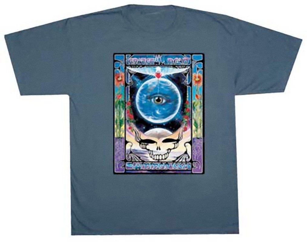 Grateful Dead Eyes Of The World Solid T Shirt