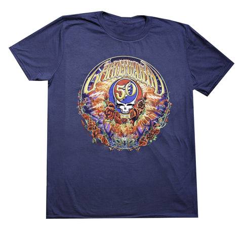Grateful Dead - 50th Anniversary Men's / Unisex T Shirt - Solid