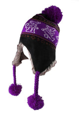 Grateful Dead Bears Ski Hat - Purple