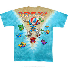 Grateful Dead - Jam Bake Tie Dye T Shirt