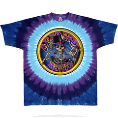 Grateful Dead Queen Of Spades Tie Dye T Shirt