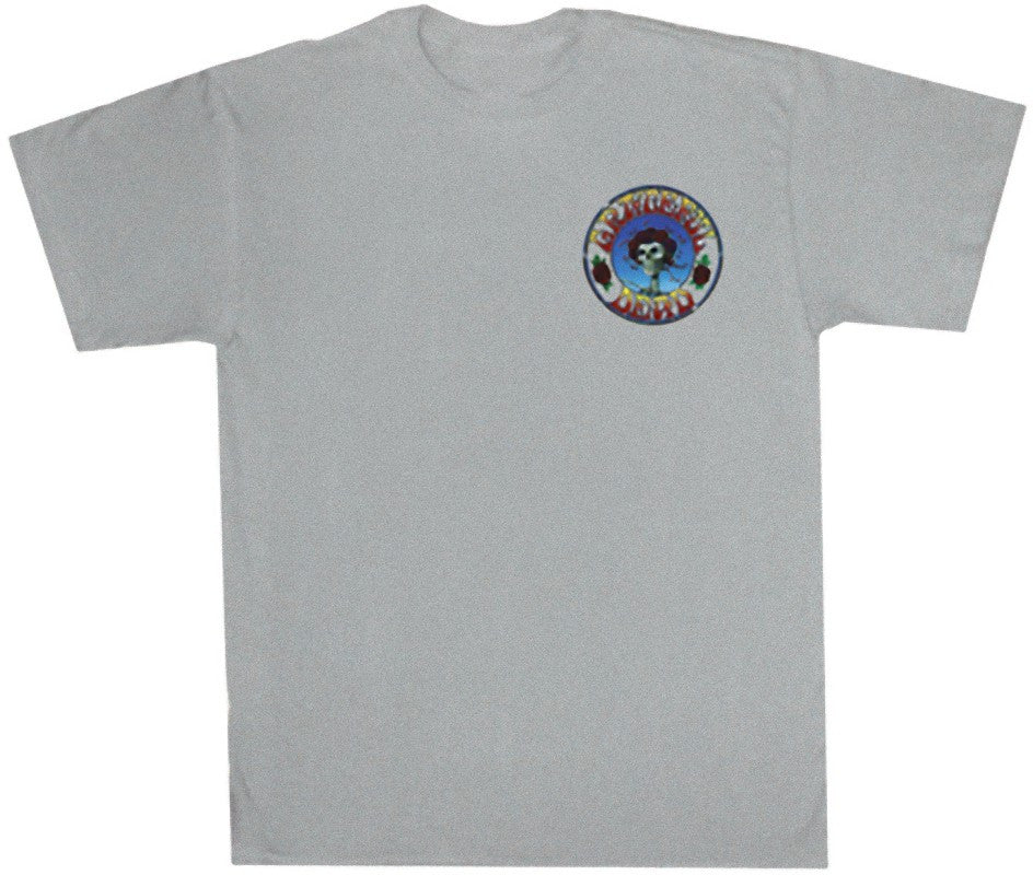 Grateful Dead Single Rose Solid T Shirt