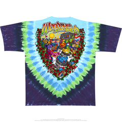 Grateful Dead - Jamband Wonderland Tie Dye T Shirt