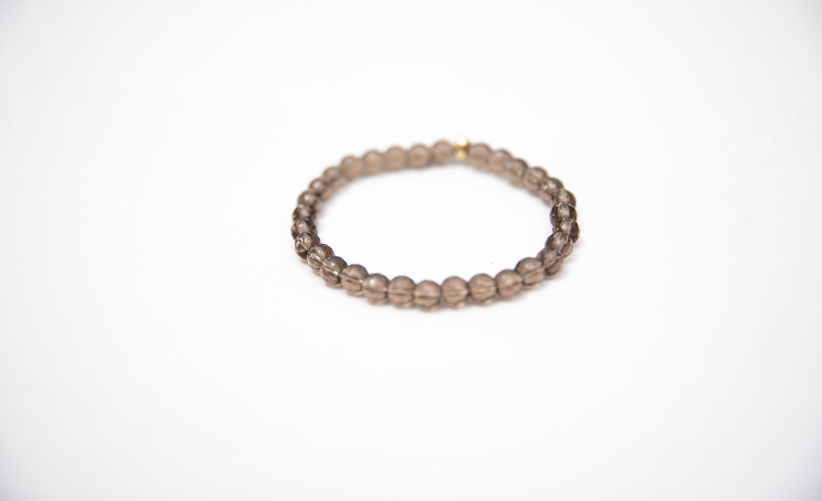 Wristband Smoky Quartz