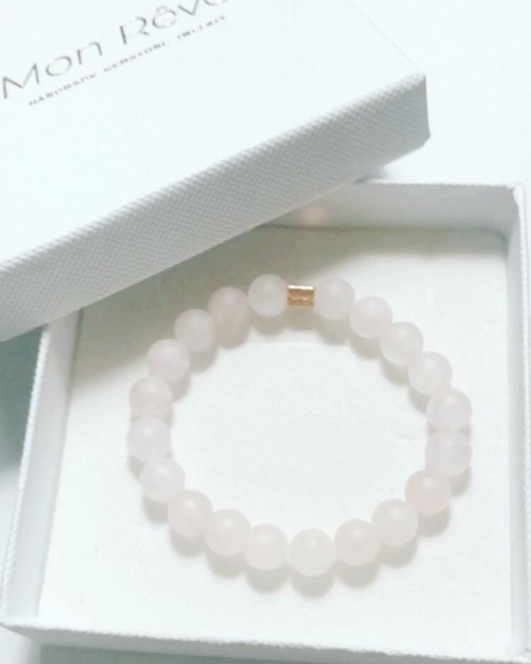 Wristband Rose Quartz