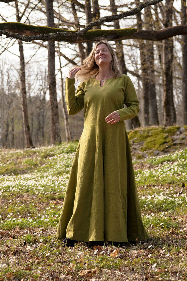 Frøya Viking Linen Dress