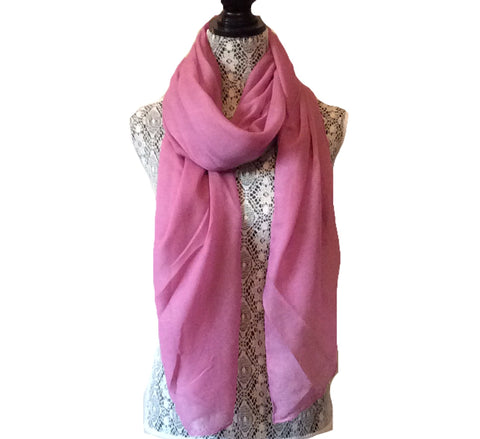 Dusty Pink Viscose