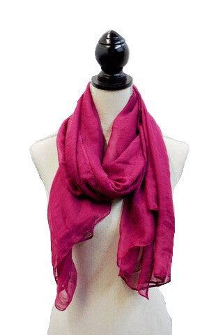 Dark Fuchsia Viscose