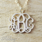 Customized Monogram Necklace