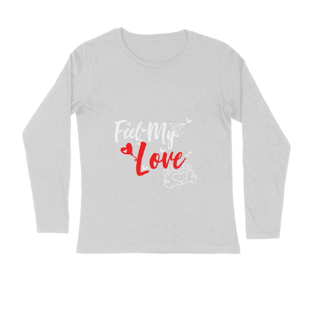 Allu Arjun Full Sleeve Tshirt - Feel My Love