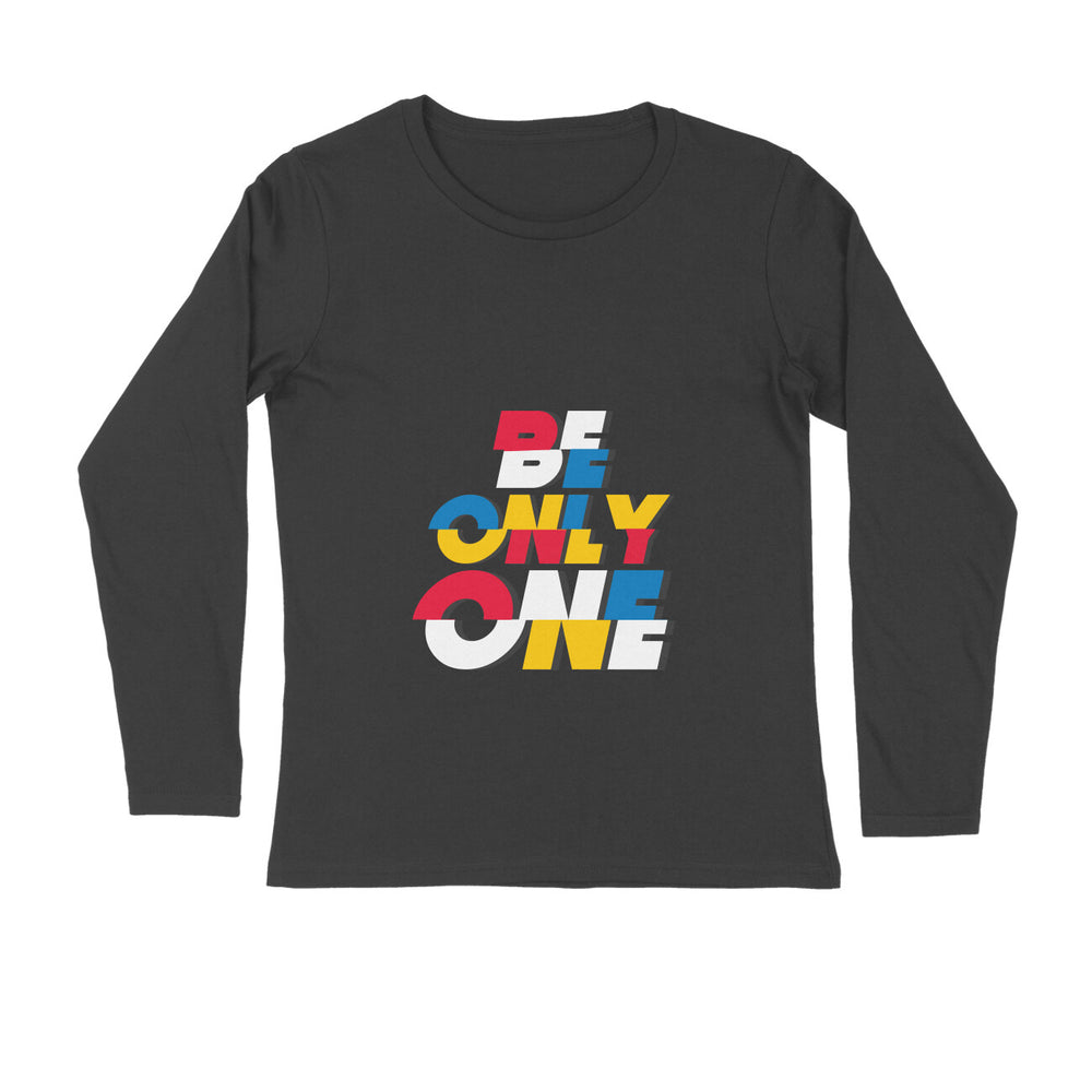 Prabhas Full Sleeve Tshirt -  Be Only One