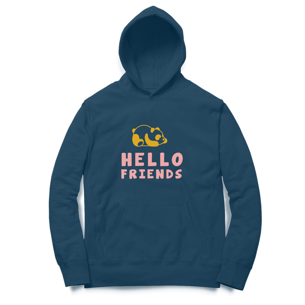 Mens Kannada Hoodies - Hello Friends