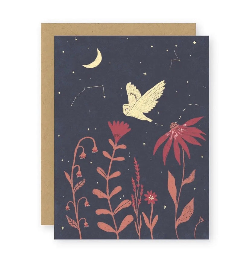 Night Owl Notecard