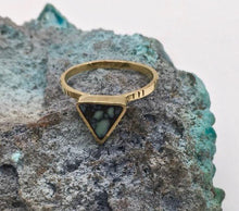 Load image into Gallery viewer, Young In The Mountains Triangle Ring-Size 6