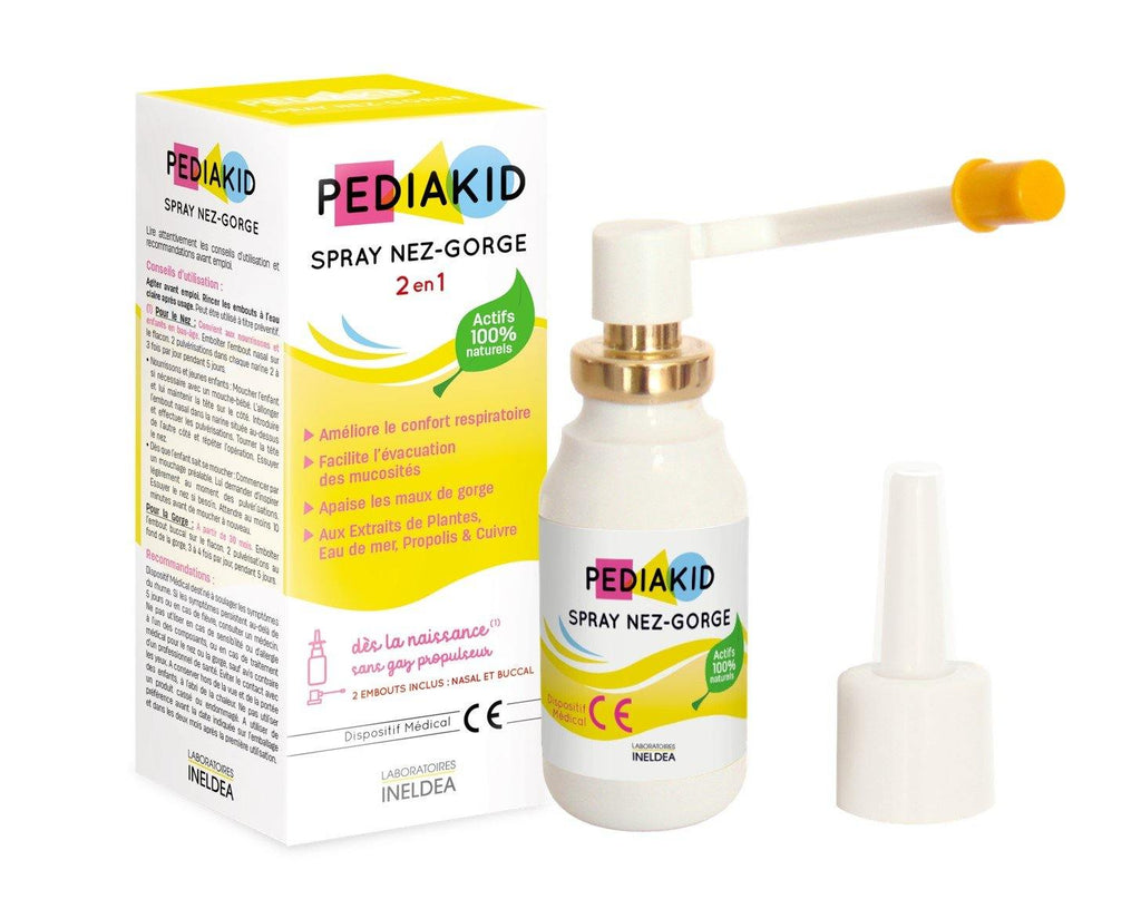 SPRAY NEZ-GORGE PEDIAKID