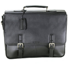 Kenneth Cole Crumpled Flapover Portfolio Bag - BuyBags