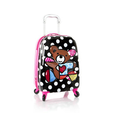 Heys Britto 3D Pop Up Spinner Kids Luggage - Teddy Bear - BuyBags