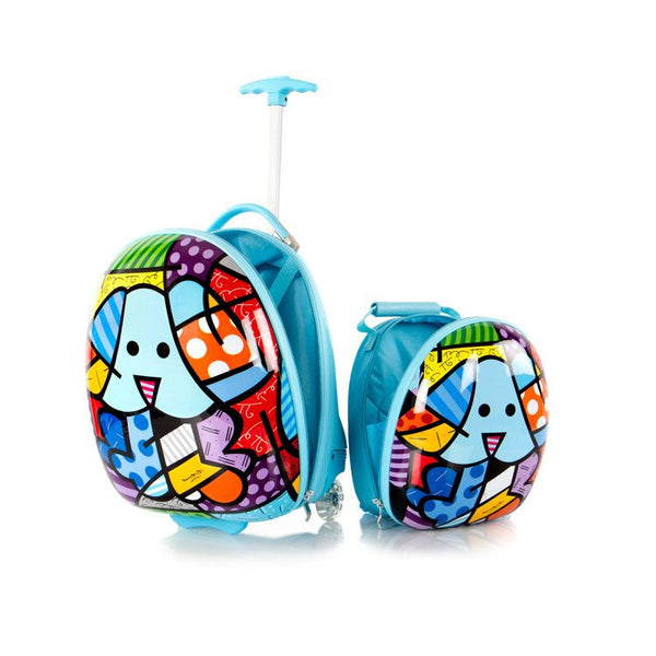 Heys Britto for Kids Luggage and Backpack Set - Blue Dog - BuyBags