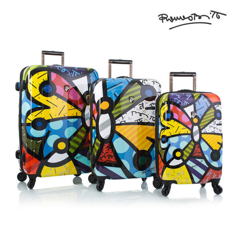 Heys Britto Butterfly 3 Piece Luggage Set - BuyBags