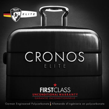 "HEYS Cronos Elite German PURE PC™ In Silver 26"" Luggage - BuyBags"