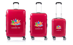 Champs Canada 150 Collection 3 Piece Luggage Set - BuyBags
