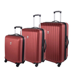 Atlantic Gateway Collection 3 Piece Luggage Set - BuyBags