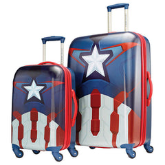 "American Tourister Marvel Captain America 30"" and 21"" 2 Piece Luggage Set - BuyBags"