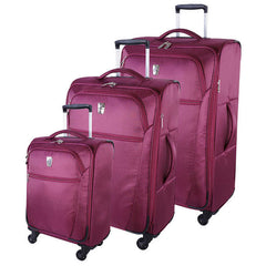 Atlantic Lighthouse Collection 3 Piece Luggage Set - BuyBags