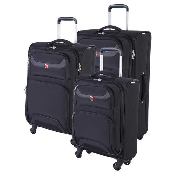 Swiss Gear Barenhorn Collection 3 Piece Luggage Set - BuyBags