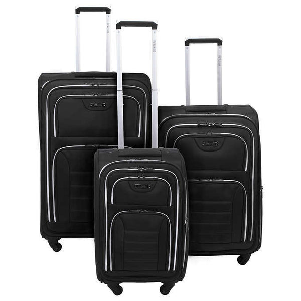 Kenneth Cole Reaction Take Five 2.0 3 Piece Luggage Set - BuyBags