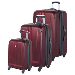 Atlantic Atlas Collection 3 Piece Luggage Set - BuyBags