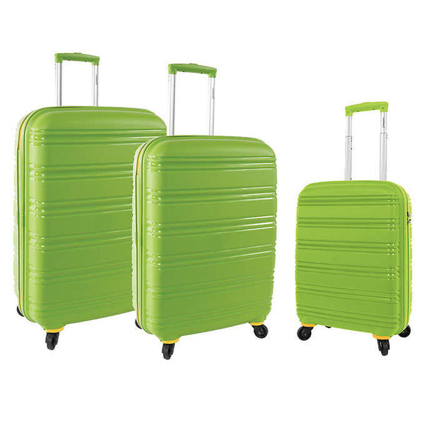 Samboro Seascape Collection 3 Piece Luggage Set - BuyBags