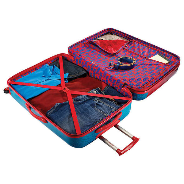 "American Tourister Marvel Spider Man 30"" and 21"" 2 Piece Luggage Set - BuyBags"