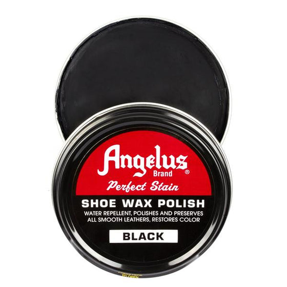 ANGELUS BLACK SHOE WAX POLISH
