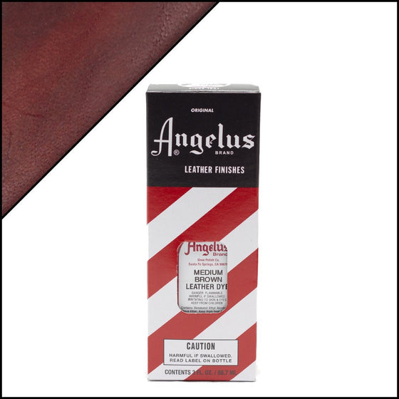 Angelus Leather Dye Medium Brown