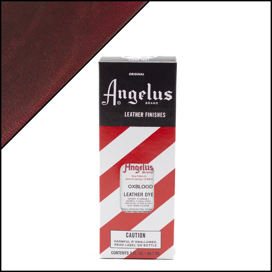 Angelus Leather Dye Oxblood