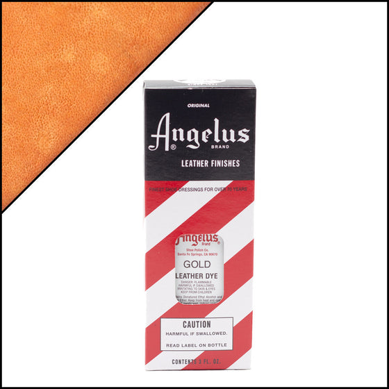 Angelus Leather Dye Gold