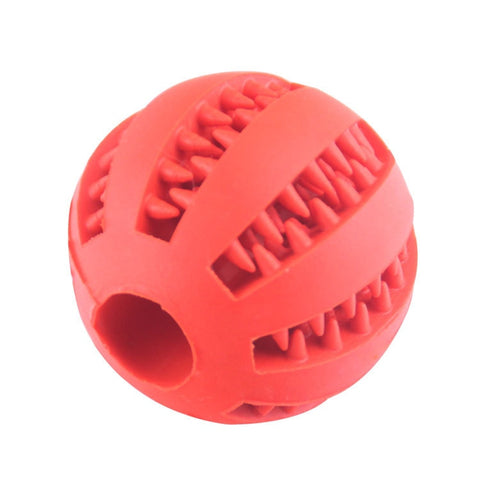 Pet Dog Toys Extra-tough Rubber Ball Toy Funny Interactive