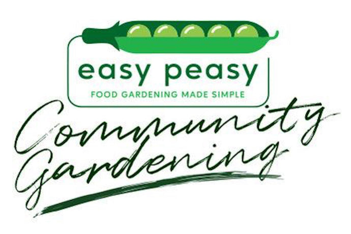 Easy Peasy Community Garden Plan