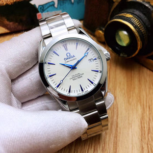 Omega Stainless Steel 100 % Mechanical Watch