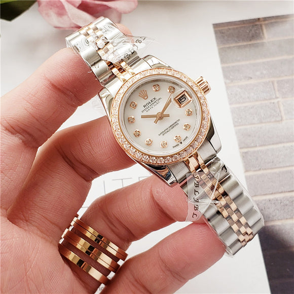 Rolex White Gold Ladies 100% Mechanical Automatic Watch