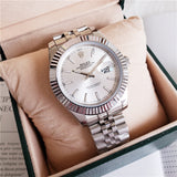 Rolex White Gold Ladies Watch Automatic Mechanical Watch
