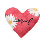 Desigual Heart Cushion - Blue Summer