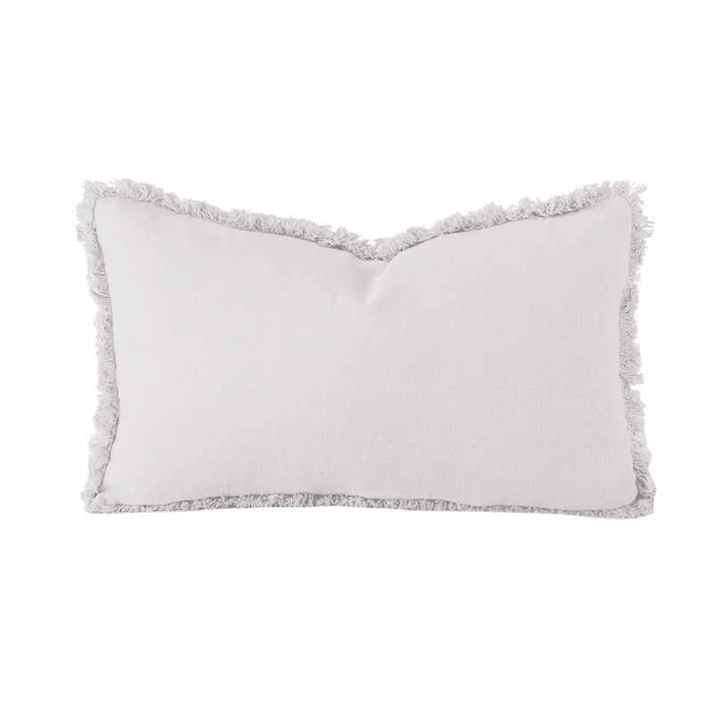 Linen Cushion - Rectangle - Silver - COMING SOON