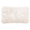 Faux Fur Cushion - Ivory