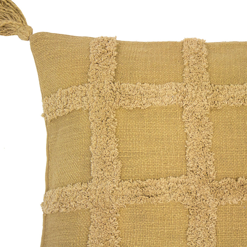 Percy Cushion - Rectangle - Flax - COMING SOON