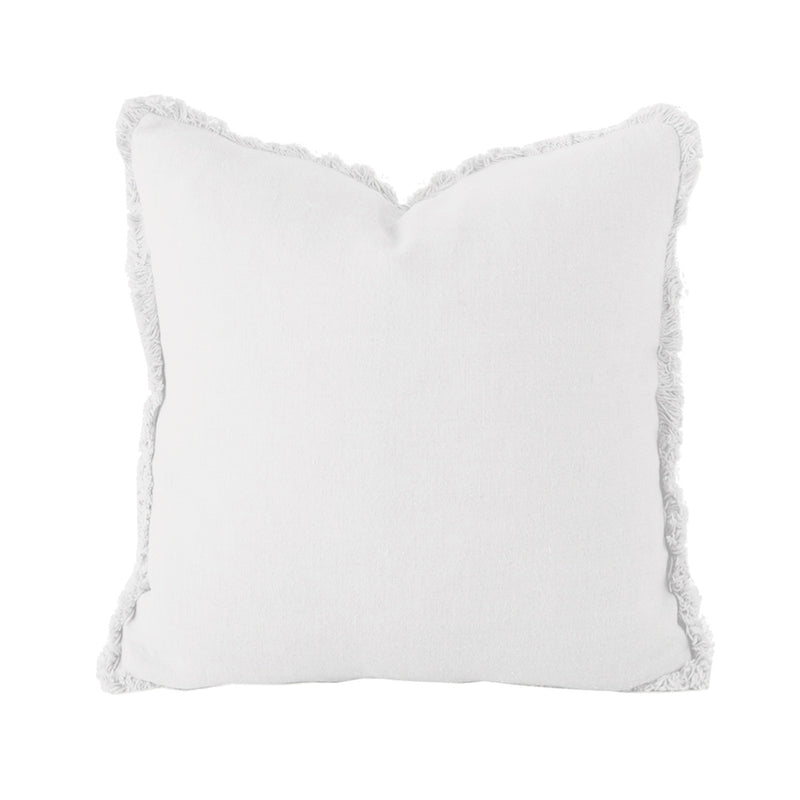 Linen Square Cushion - Ivory