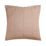 French Flax Linen Quilted Euro Sham - COMING SOON